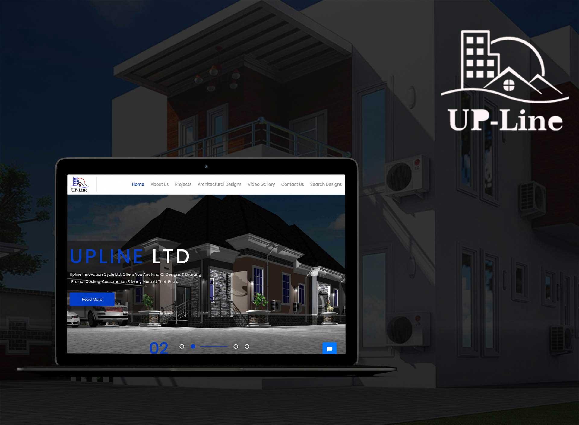 Upline Architecture Web Design & Development