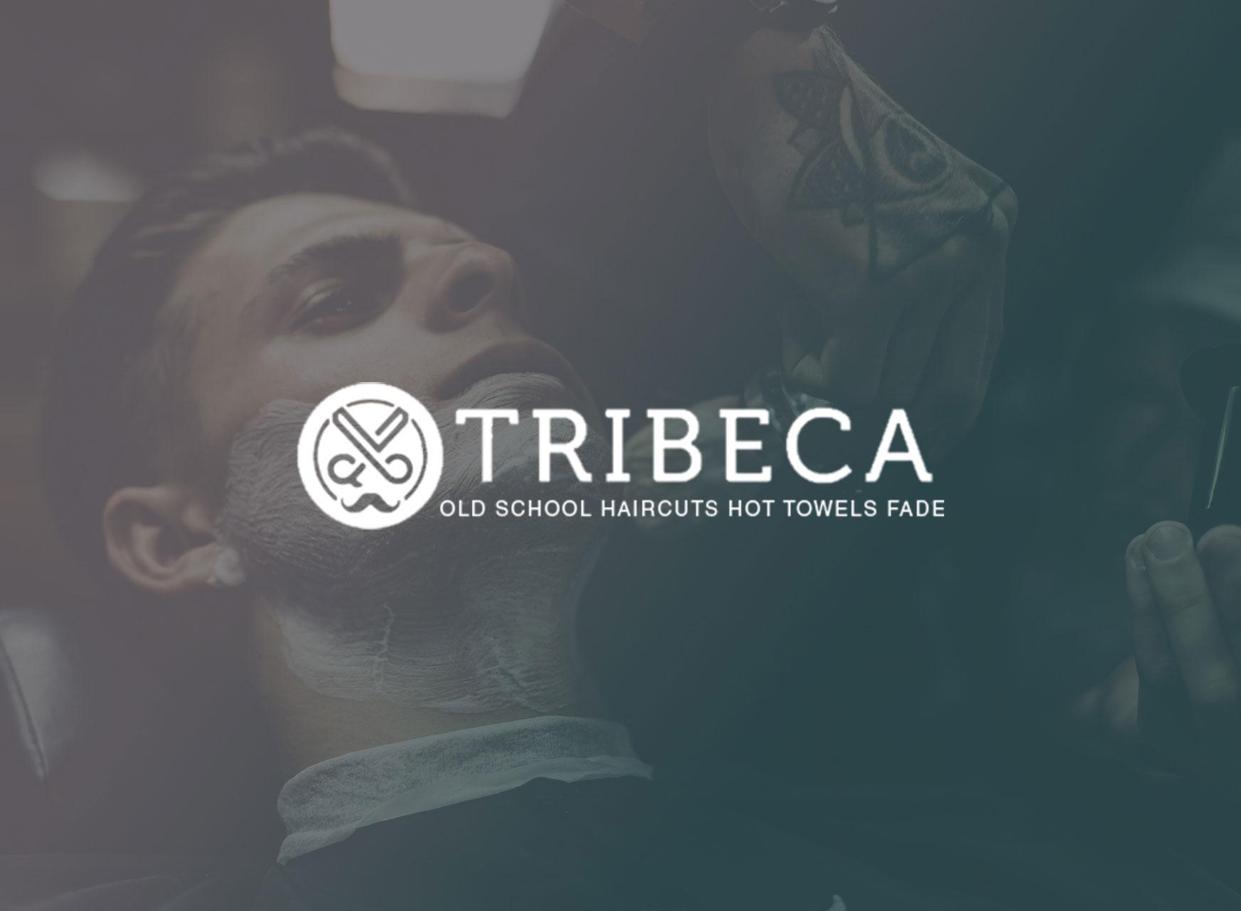 Tribeca Barbers Branding & Web Design