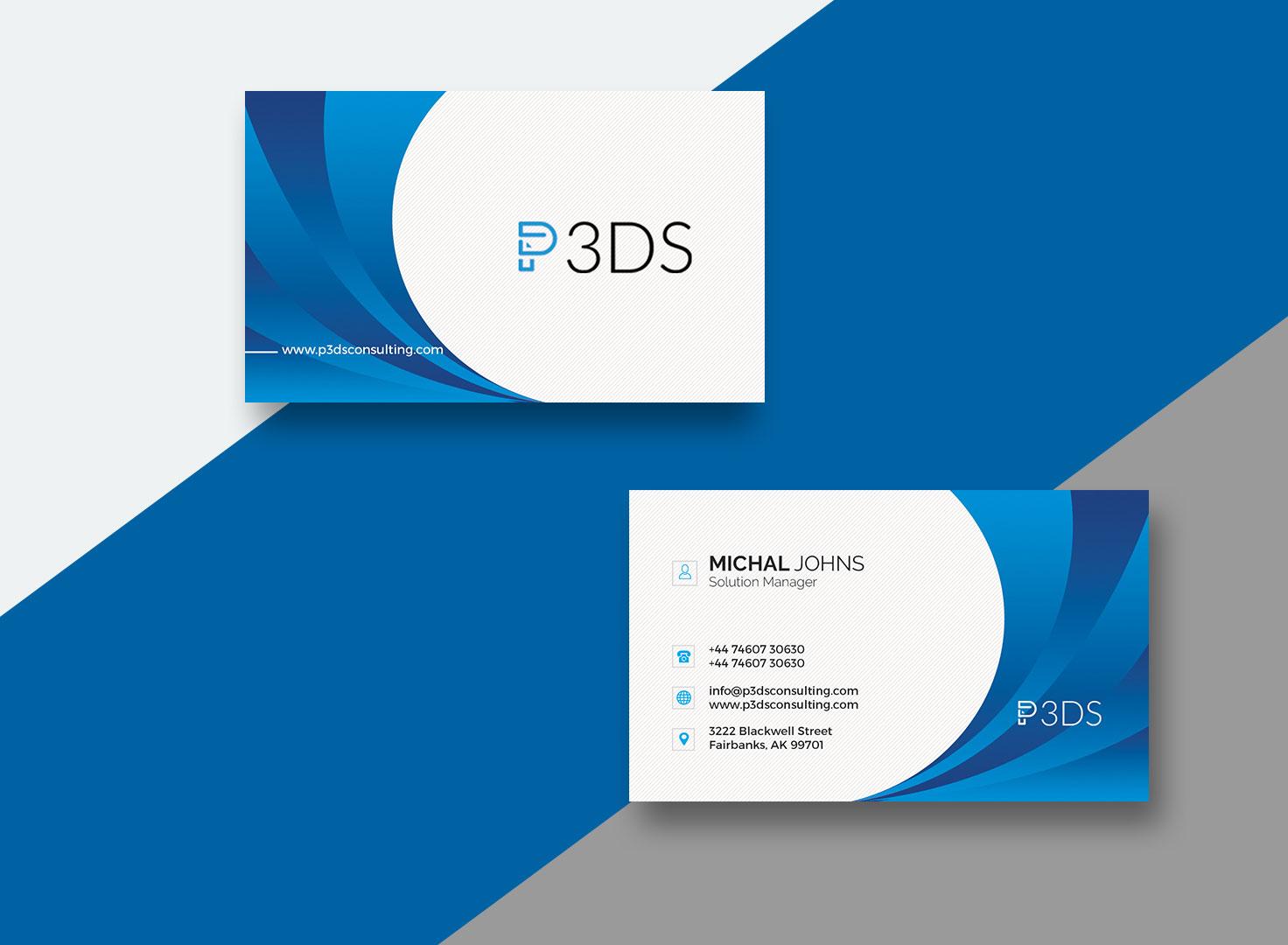 P3DS Consulting Branding & Web Design